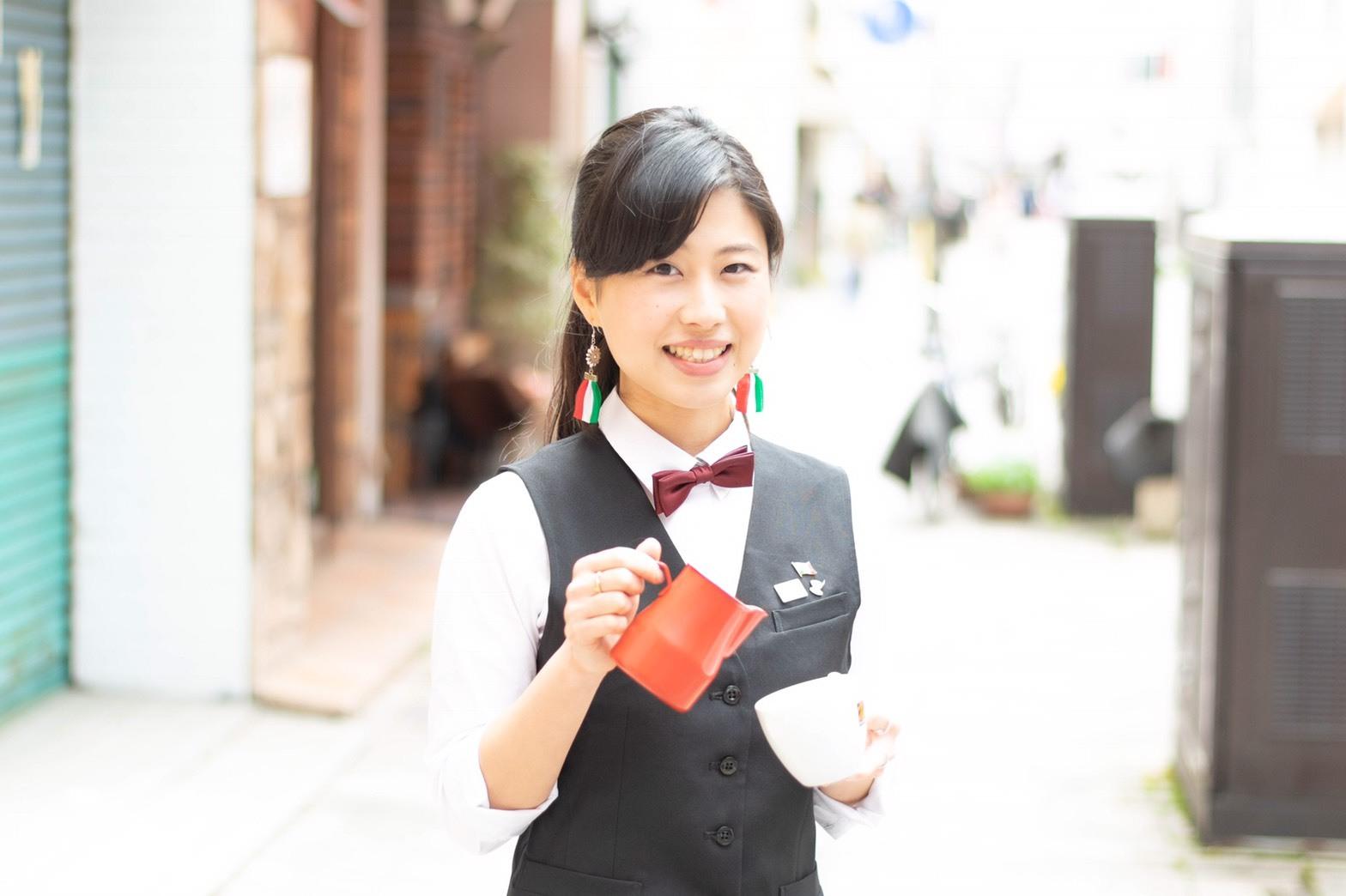 近江香織-バリスタ
